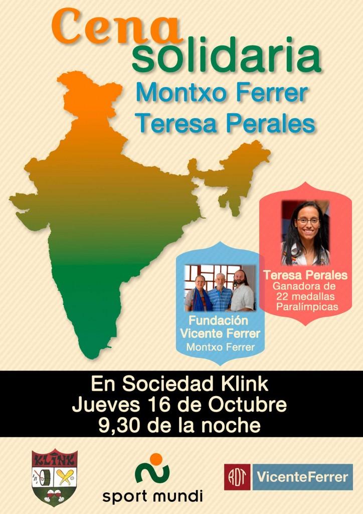 Teresa Perales y Montxo Ferrer